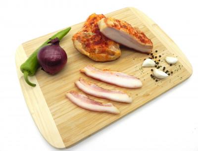 Régimódi csécsi fokhagymás paprikás szalonna (Ft/kg)